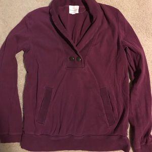 Banana Republic Purple Sweatshirt